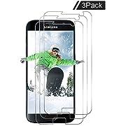 Adela Michelson [3 Stück] Panzerglas Schutzfolie für Samsung Galaxy s7,Panzerglasfolie Displayschutzfolie [HD Anti-Öl] [9H Härte] [Kratzer] [Blasenfreie] Schutzglas Glasfolie (s1)