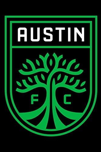 Austin Football Club Notebook: Minimalist Composition Book | 100 pages | 6
