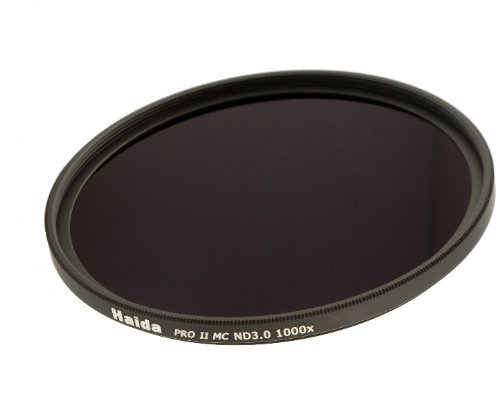 Haida PRO II Serie MC (mehrschichtvergütet) Neutral Graufilter ND1000 - 62mm - Inkl. Cap mit Innengriff