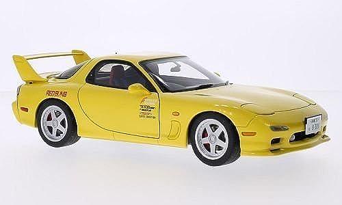 Mazda Efini RX-7 (FD3S), gelb, RHD, Modellauto, Fertigmodell, AUTOart 1 18