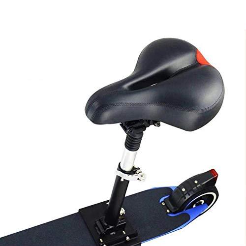 Funihut - Sillín eléctrico de tabla con ruedas, plegable, altura ajustable, absorbe...