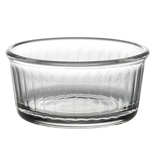 Duralex Lot de 4 ramequins en verre 8 cm 8,5 cm