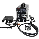 Dirty Pro Tools Professional Mig 130 Welder Gasless 120A 120 Amp 240V No Gas with Mask & Welding Weld Wire...