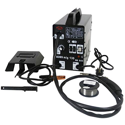 Dirty Pro Tools™ Professional Mig 130 Welder Gasless 120A 120 Amp 240V No Gas with Mask & Welding Weld Wire with Accessories
