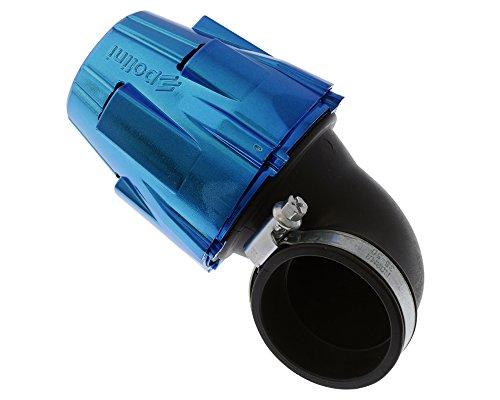 Filtro dell'aria Polini in plastica con tappo, 46 mm, 90°.