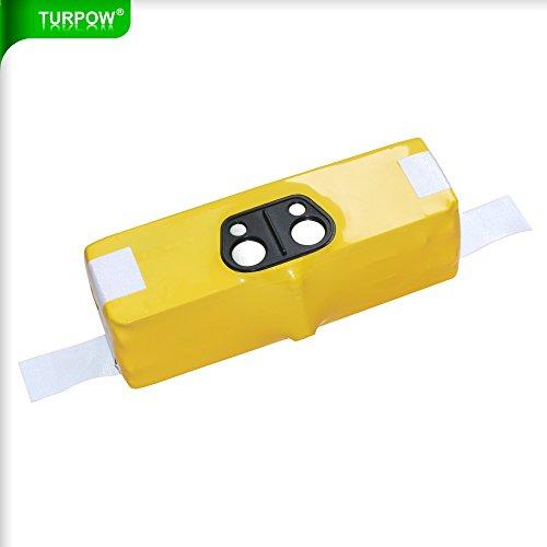 Turpow 6400mAh Li-ion Battery for iRobot Roomba R3 500 600 700 800 900 Series500 510 530 531 532 535 536 540 550 552 560 562 570 580 595 600 620 630 650 660 700 760 770 780 790 800 870 880 900 980 R3
