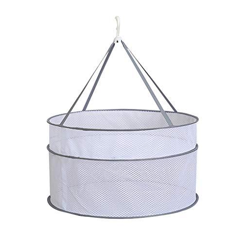 Vkospy Suéteres del Viento Tendedero de lavandería Cesta de Malla de diseño...