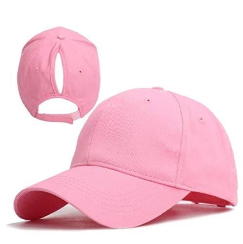 NSWZX® Gorra de béisbol de Cola de Caballo para Mujer S Gorra Ajustable de Verano para Mujer Gorras de Cola de Caballo de Sombra al Aire Libre Sombreros de Hip Hop 2020