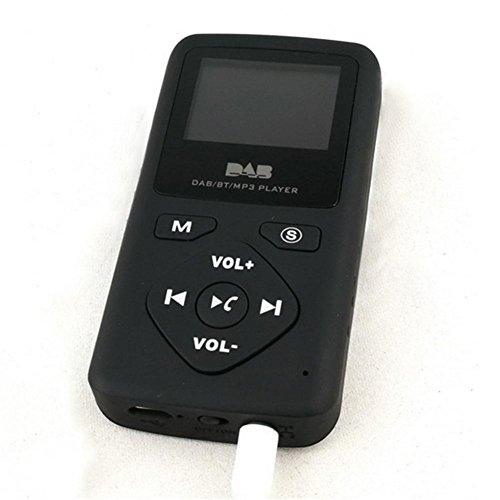 2018 neuer Bluetooth MP3-Player, Taschen-DAB-Radio beweglicher Digital-Radio mit Bluetooth MP3-Player, FM Radio, Diktiergerät,