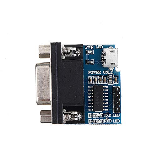 Módulo electrónico 5pcs RS232 a TTL de serie del módulo del convertidor...