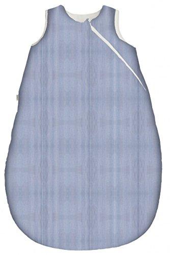 Popolini iobio Schlafsack Winterschlafsack Lavalan Fine Stripes Blue Blau Gestreift M=90cm