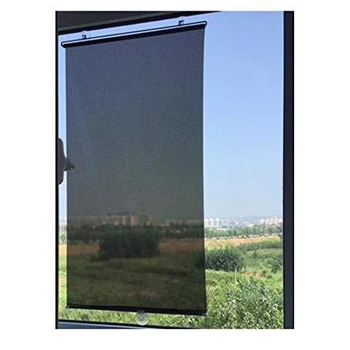 Fönsterduk, självhäftande, sugpropp, monteringspasta, typ: stansfri installation, solskydd, isolering, balkong, små fönster, skyddar mot ljus