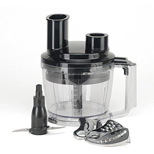 KeMar Kitchenware KSM-800 Küchenmaschinen Aufsatz, Food Processor, 1250ml, nur passend für den KeMar KSM-800 Stabmixer