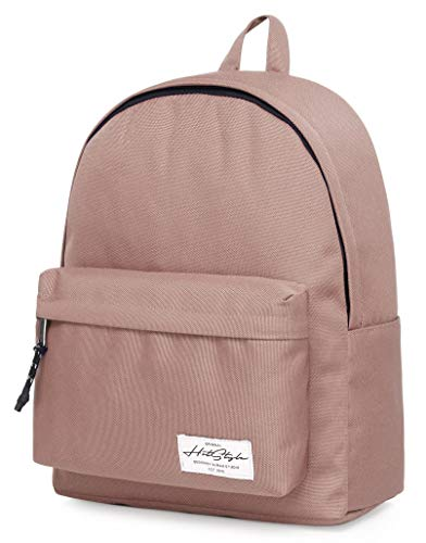 HotStyle SIMPLAY+ High School Backpack, Durable Water-resistance Bookbag with 11 Storage Pockets & Padded Straps, AshRose