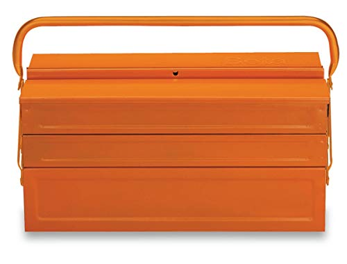 C20-FIVE-SECTION CANTILEVER STEEL TOOL BOX,...