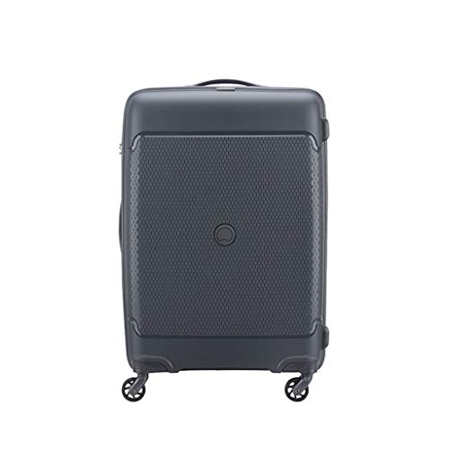 LLRDIAN Hand Carry-on Suitcase Luggage Bag Luggage Suitcase Hand Luggage Hard Shell Luggage Lightweight Hand Luggage Suitcase (Color : Black, Size : 40×20×55cm)