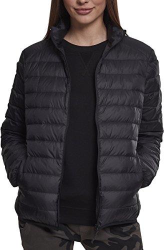 Urban Classics Damen Ladies Basic Jacket Jacke, Schwarz (Black 00007), Small (Herstellergröße: S)