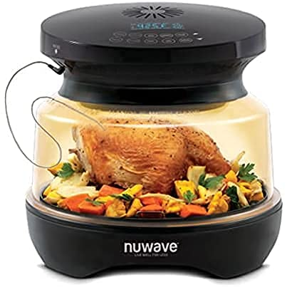 NuWave Primo 1500-watt Dual-Heat Combo Grill Oven with Integrated Digital Temperature Probe