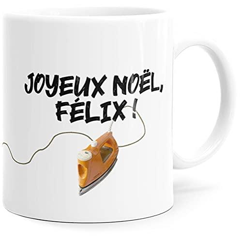 Taza con texto en inglés 'Félix', divertida idea de regalo original para amigos, pareja, enamorados, hermanas, hermanas, cumpleaños, Navidad o simplemente para el placer.