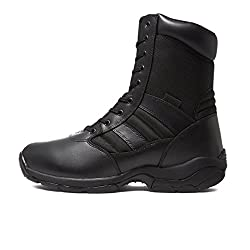Good safety boots with side zip by Magnum - the unisex Panther