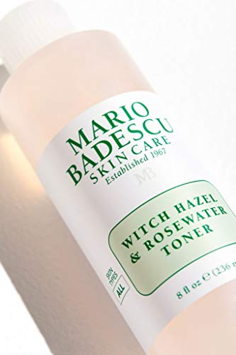 Mario Badescu Witch Hazel & Rosewater Toner, 8 oz.