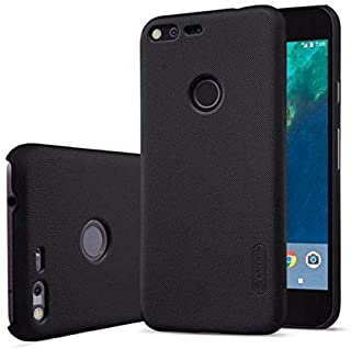 Nillkin Frosted Shield Hard Case Cover with Screen Protector for Google Pixel - Black