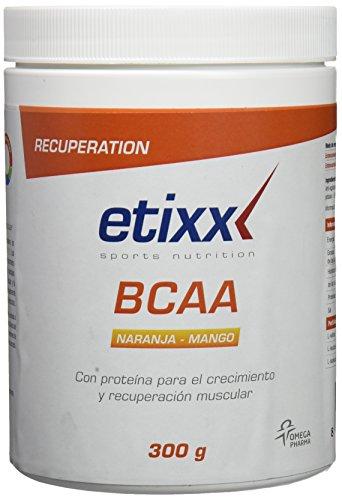 Etixx BCAA Powder, Sabor a Naranja y Mango - 300 gr