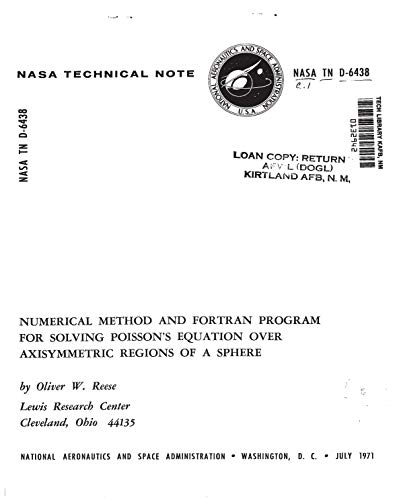 Numerical method and FORTRAN program for solving Poissons equation over axisymmetric regions of a sphere (English Edition)