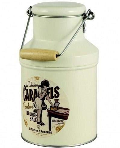 La Maison d'Armorine Caramelle al Burro Salato in Barattolo di Latta - 1 x 200 Grammi