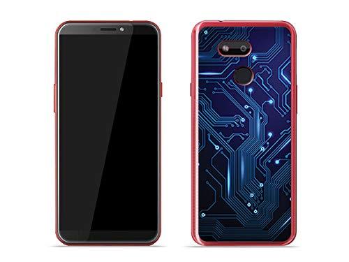 etuo Handyhülle für HTC Desire 12s - Hülle Fantastic Case - integrierte Schaltkreise - Hülle Schutzhülle Etui Case Cover Tasche für Handy