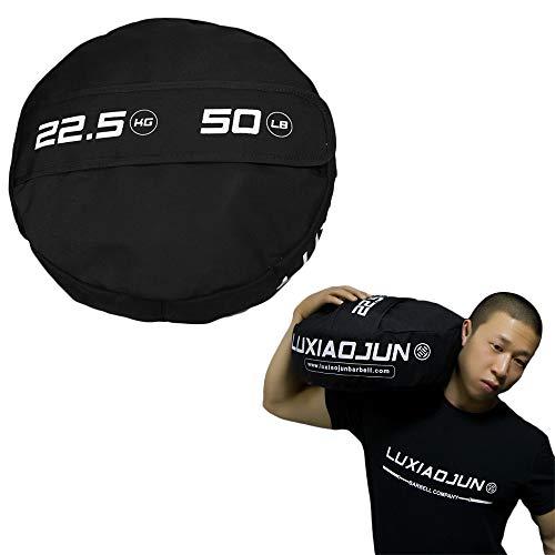 AKT Sandbag Power Bag - 22.5-68 kg (50-150 lb) Peso Durevole di Esercizio di Forma Fisica di Allenamento di Forza MMA di Powerbag, 1 pc (No Sabbia),22.5kg