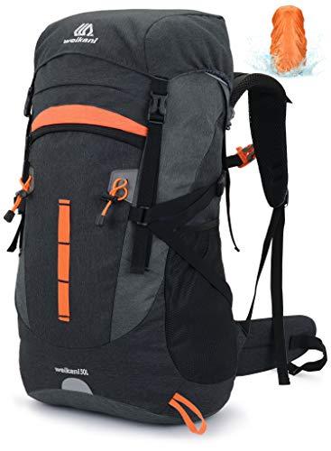 VEVESMUNDO 50L Hiking Backpack Men Women for Travel Mountaineering Climbing...