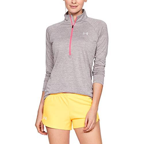 Twist Langarm Shirt Under Armour Damen Tech 1//2 Zip