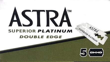 5 lamette ASTRA Superior Platinum (1 pacchetto)