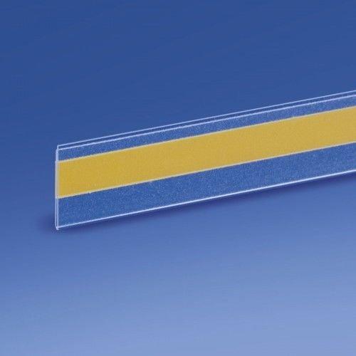 25 Perfiles Portaprecios Adhesivos para Estantes - 100x2h cm
