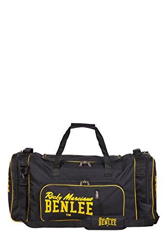BENLEE Rocky Marciano Unisex Rocky Marciano Sporttasche Locker, Schwarz/Gelb, 75 cm