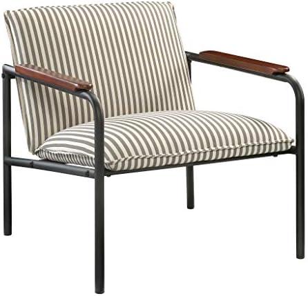 Best Sauder Vista Key Lounge Chair, Gray finish