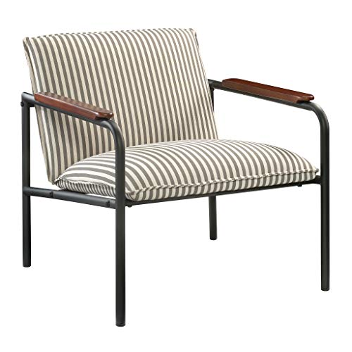 Sauder Vista Key Lounge Chair, Gray finish