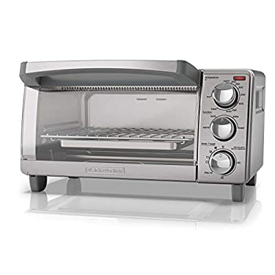 Black Decker 4 Slice Toaster Oven TO1760SS
