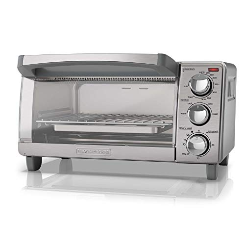 BLACK+DECKER  4-Slice Toaster Ov...