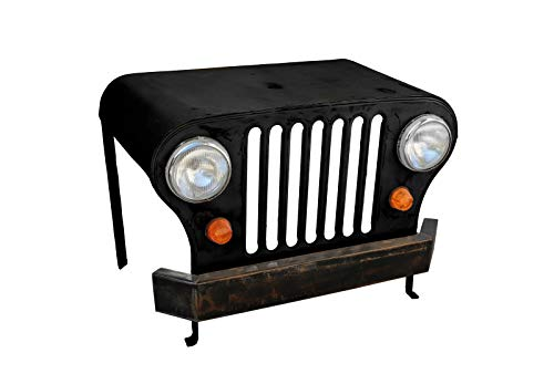 Sit Möbel Schreibtisch Jeep, This & That, LKW-Front, schwarz,