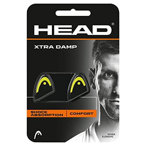 Head Xtra Damp Amortiguador de Tenis, Unisex Adulto, Amarillo, Talla única
