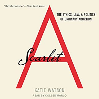 Scarlet A audiobook cover art