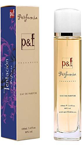 TENTACION by p&f Perfumia, Eau de Parfum para mujer, Vaporizador (100 ml)