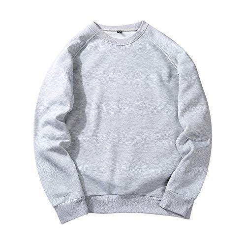 Sweatshirt, Frühling und Herbst Mode Hoodie Herrenmode Größe warme Fleecejacke Herrenhemd, H,M