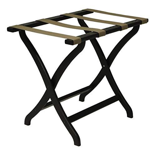Find Bargain FixtureDisplays Designer Curve Leg Luggage Rack 1040137-NF No