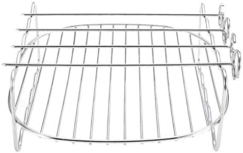 LIKYE Double Layer Stainless Max 71% OFF Steel Sk BBQ Ranking TOP6 Replacement Rack
