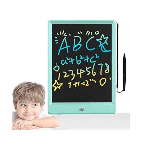 Toys for 2-6 Years Old Girls Boys, LCD Writing Tablet 10 Inch Colorful Doodle Board,...