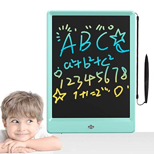 Toys for 2-6 Years Old Girls Boys, LCD Writing Tablet 10 Inch Colorful Doodle Board, Drawing Tablet for Kids, Electronic Writing Pad, Educational Birthday Learning Toys Gifts for Age 2+ (Blue)
