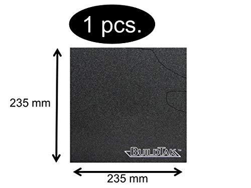 BuildTak Druckbett-Beschichtung 3D-Drucker Dauerdruckplatte Größe je nach Wahl (235x235mm BT235x235)